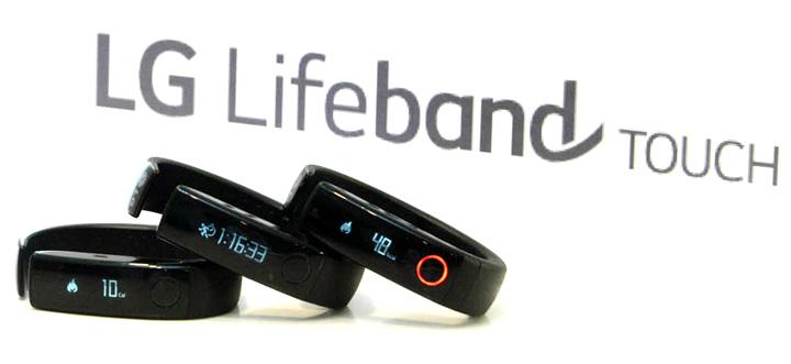 Фитнес браслет lg lifeband touch