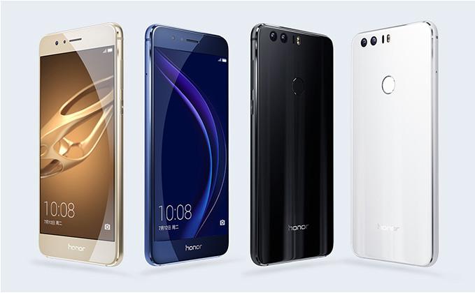 Смартфон Huawei Honor 8 официально представлен вевропейских странах поцене от €399