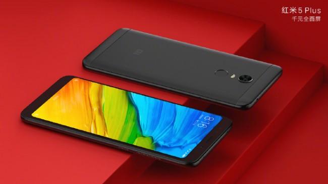 Xiaomi официально презентовала мобильные телефоны Redmi 5 иRedmi 5 Plus