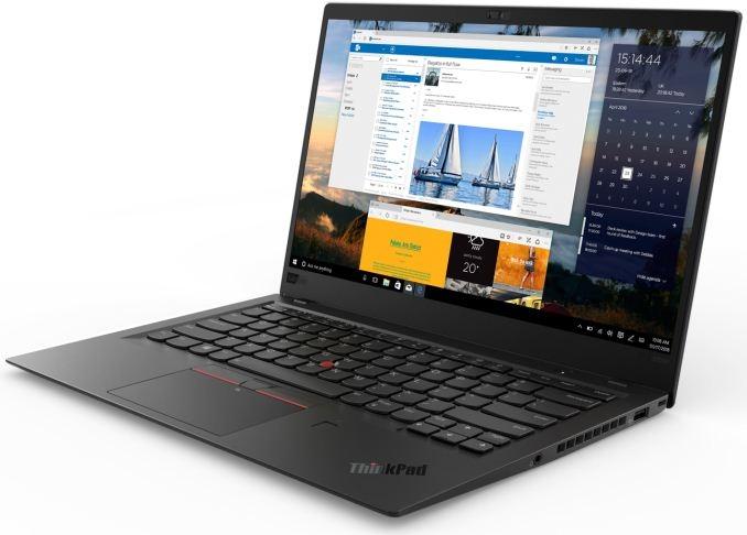 Lenovo привезла наCES 2018 ноутбук ThinkPad X1 Carbon