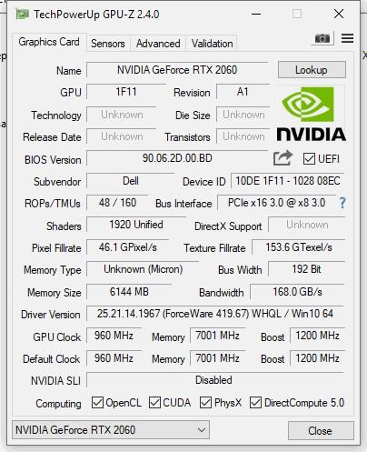 Обзор и тесты производительного игрового ноутбука Dell G7