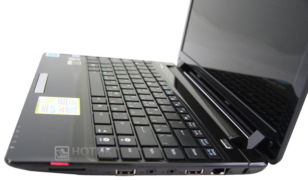 Нетбук ASUS Eee PC 1201NL, раскрытый вид