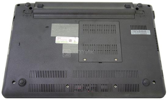 Нетбук ASUS Eee PC 1201NL, вид снизу