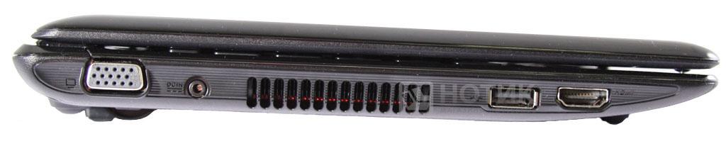 Нетбук ASUS Eee PC 1201NL, вид справа