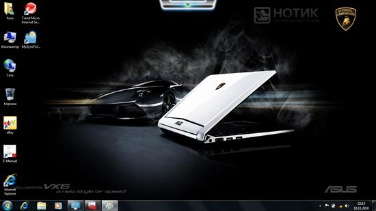 Нетбук ASUS Eee PC VX6 Lamborghini