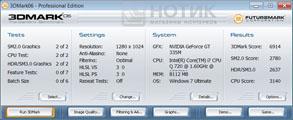 Ноутбук ASUS NX90Jq: 3dmark 06