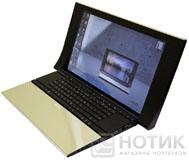 Ноутбук ASUS NX90Jq в нормальном рабочем раскрытии