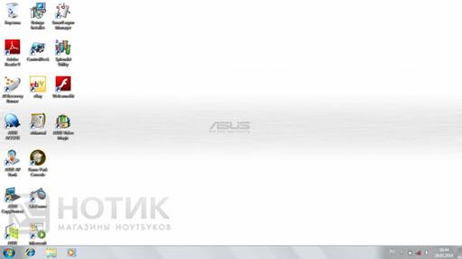 Рабочий стол ноутбука Asus N61JQ
