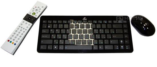 Моноблок ASUS Eee Top PC 2400 INT : ПДУ, беспроводные клавиатура и мышь
