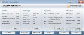 Моноблок ASUS Eee Top PC 2400 INT : Тест Futuremark 3DMark 06