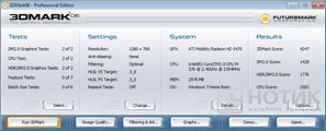 Ноутбук Asus K52Je : Тест 3DMark 06