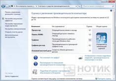 Ноутбук Asus K52Je : Тест производительности Windows
