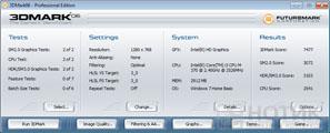 Ноутбук ASUS N53Jn : Тест Futuremark 3DMark 06