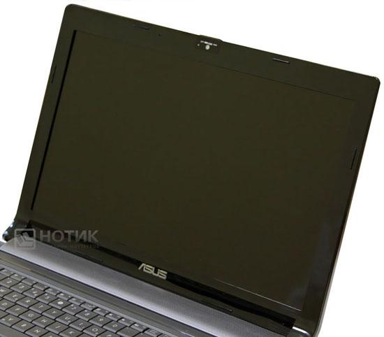 Ноутбук Asus N73Jn, широкоформатный экран