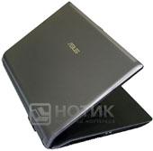 Ноутбук Asus N73Jn полуоткрытый