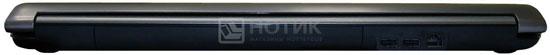 Ноутбук Asus N73Jn, задняя грань