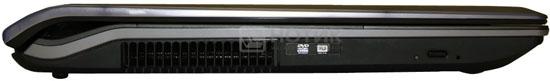 Ноутбук Asus N73Jn, левая грань