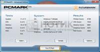 Ноутбук Asus N73Jn, PCMark 05 test