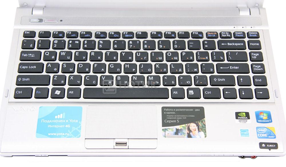 Клавиатура ноутбука сони вайо фото