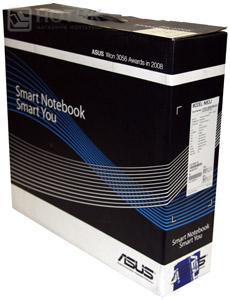 Ноутбук ASUS N53Jn : упаковочная коробка