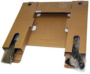 Ноутбук ASUS N53Jn : упаковка батареи и адаптера