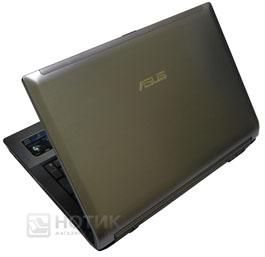 Ноутбук ASUS N53Jn полуоткрытый