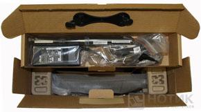 Ноутбук Asus K52Je : упаковочная коробка открыта