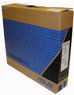 Ноутбук Asus K52Je : упаковочная коробка