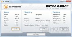 Ноутбук Asus K52Je : Тест PCMark 04