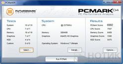 Ноутбук Asus P52Jс : Futuremark PCMark 04 test