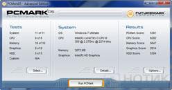 Ноутбук Asus P52Jс : Futuremark PCMark 05 test