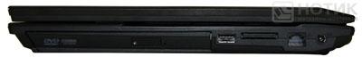 Ноутбук Asus P52Jс : правая грань