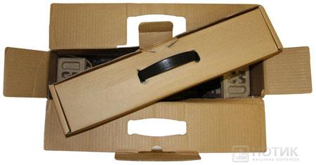 Ноутбук Asus P52Jс: упаковочная коробка открытая