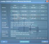 Ноутбук Asus P52Jс : Everest cache & memory test