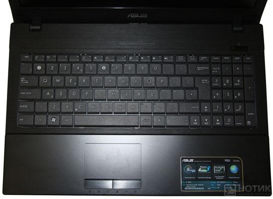 Ноутбук Asus P52Jс : клавиатура