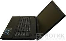 Ноутбук Asus P52Jс в максимальном раскрытии, вид сбоку