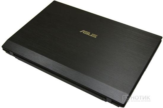 Ноутбук Asus P52Jс закрытый, вид сзади