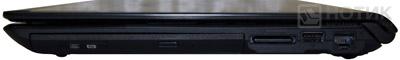 Ноутбук Asus UL80Jt : правая сторона