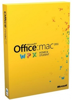 Программный продукт Microsoft Office Mac Home Student 2011 Russian DVD 1PK GZA-00145 от Нотик