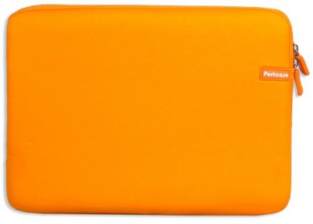 """Фотография товара чехол 14"""" PortCase KNP-14 OR, неопрен, Оранжевый (13229)"""