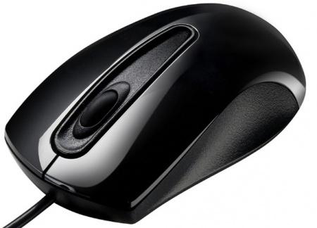 Мышь проводная Asus UT200 Optical Black 1000 dpi (V2) 90-XB0L00MU00040, Черный