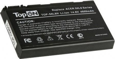 Аккумулятор TopON TOP-50L8H 14.8V 4800mAh для Acer PN: BATBL50L8H
