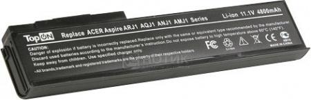 Аккумулятор TopON TOP-ARJ1 11.1V 4800mAh для Acer eMachines PN BTP-AMJ1 BTP-ARJ1 BTP-ANJ1 BTP-AOJ1 BTP-AQJ1