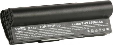 Аккумулятор TopON TOP-701H/A22-P701 7.4V 6600mAh для Asus PN: A22-700 A22-P701 A23-P701 P22-900