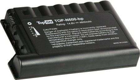 Аккумулятор TopON TOP-N600 14,8V 4800mAh для HP PN: 229783-001 232633-001 250848-B25 от Нотик