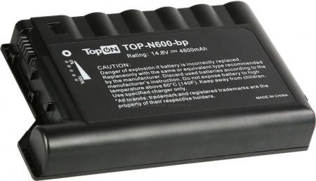 Аккумулятор TopON TOP-N600 14,8V 4800mAh для HP PN: 229783-001 232633-001 250848-B25 аккумулятор topon top nx8220 14 8v 4800mah для hp pn pb992a hstnn ub11 hstnn ob06 hstnn lb11