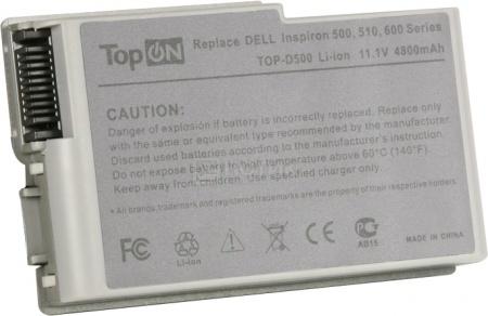 Аккумулятор TopON TOP-D500 11.1V 4400mAh для Dell PN: 6Y270 3R305 YD165 1X79 315-0084
