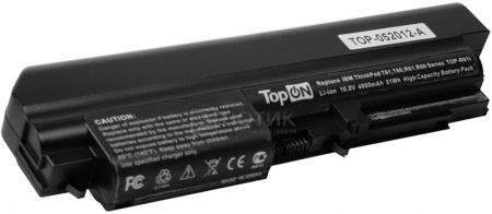 Аккумулятор TopON TOP-R61i 10.8V 4400mAh для Lenovo PN: 41U3198 43R2499 FRU 42T4530 FRU 42T4548 FRU 42T5264 FRU 42T4645