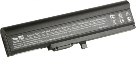 Аккумулятор TopON TOP-BPL5 7.4V 7200mAh для Sony Vaio PN: VGP-BPS5A VGP-BPL5A НОТИК 1890.000