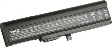 Аккумулятор TopON TOP-BPL5 7.4V 6600mAh для Sony Vaio PN: VGP-BPS5A VGP-BPL5A оригинальный аккумулятор sony vpcz21 z212 z213 z214 z215 z216 sony vgp bps27